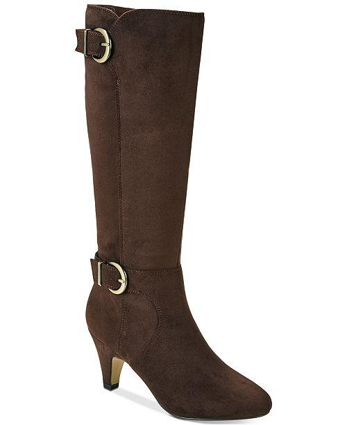 e7500fdfe97 Bella Vita Toni II Wide-Calf Boots   Reviews - Boots - Shoes - Macy s
