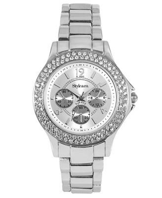 Style&co. Watch, Women's Silver-Tone Bracelet 10029655