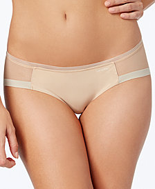 Calvin Klein Sculpted Mesh-Panel Bikini QF1708