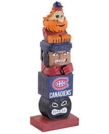 Evergreen Enterprises Montreal Canadiens Tiki Totem