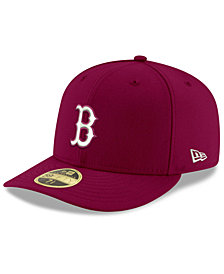 New Era Boston Red Sox Low Profile C-DUB 59FIFTY Fitted Cap