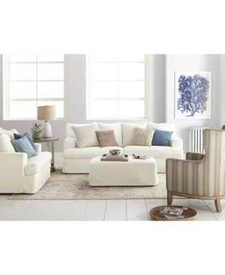 This Item Is Part Of The Brenalee Performance Fabric Slipcover Sofa  Collection
