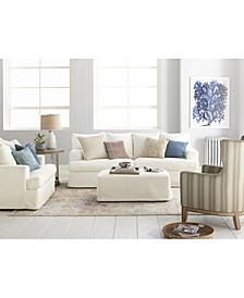 Brenalee Performance Fabric Slipcover Sofa Collection