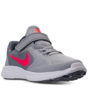 Nike Little Girls Revolution 3 Running Sneakers from Finish Line