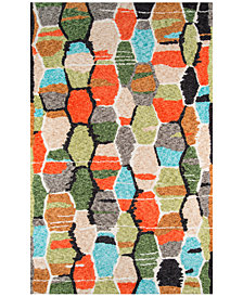 "Novogratz by Momeni Bungalow BUN03 Multi 2' 3"" x 8'  Runner Area Rug"