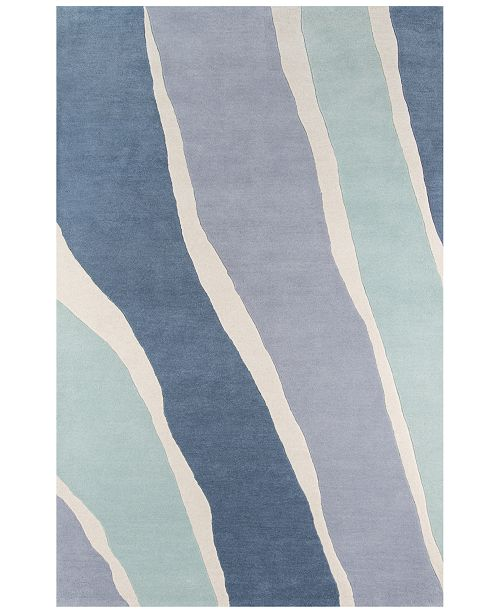 "Novogratz Collection Novogratz by Momeni Delmar DEL04 2' 3"" x 8'  Runner Area Rug"