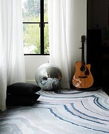 Novogratz by Momeni Delmar DEL10 Blue 8' x 10' Area Rug