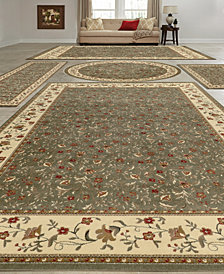KM Home Vienna Floral 5-Pc. Rug Set