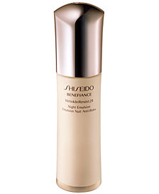 Shiseido Benefiance WrinkleResist24 Night Emulsion, 2.5 oz