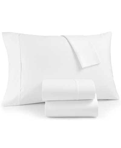 AQ Textiles Marlow 1800 Thread Count 4-Pc King Extra Deep Pocket Sheet Set