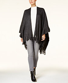 Vince Camuto Feels Like Home Fringe Poncho