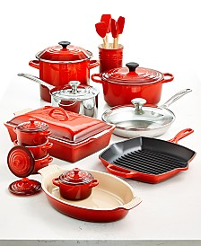 Le Creuset Multi-Materials 20-Pc. Cookware Set, Created for Macy's