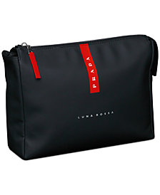 Receive a Complimentary Toiletry Bag with any large spray purchase from the Prada Luna Rossa fragrance collection