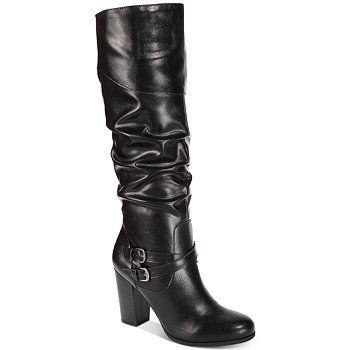 Macy's Style & Co Sophiie Ruched Dress Boots