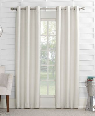 """Oscar 40"""" x 84"""" Thermal Lined Grommet Curtain Panel"""