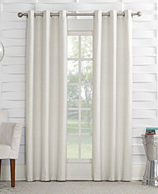 "Sun Zero Oscar 40"" x 63"" Thermal Lined Grommet Curtain Panel"