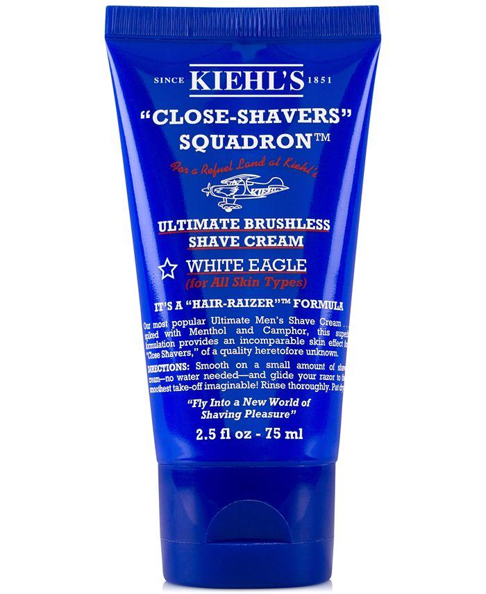 Kiehl's Since 1851 - Close-Shavers Squadron Ultimate Brushless Shave Cream - White Eagle, 2.5-oz.