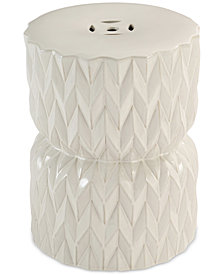 Panatierre Ceramic Garden Stool, Quick Ship