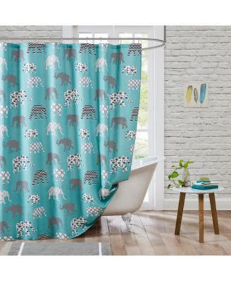 hipstyle elmer cotton shower curtain