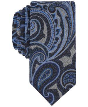 Tallia Men's Roderick Paisley Slim Tie thumbnail