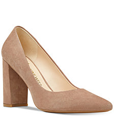 Nine West Astoria Block-Heel Pumps