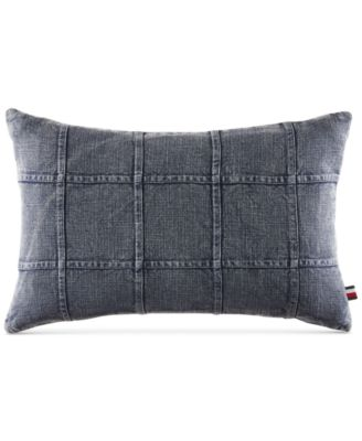"Dusted Indigo 12"" x 20"" Decorative Pillow"