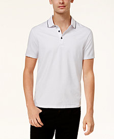 A|X Armani Exchange Men's Slim-Fit Tipped Polo