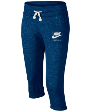 Nike Sportswear Gym Vintage Capri Pants Big Girls (716)