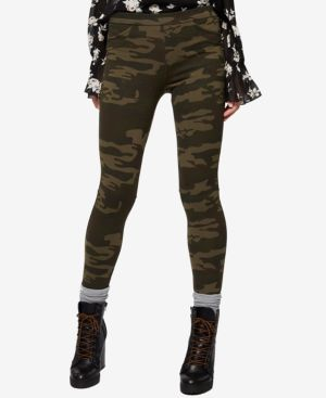 Grease Camo Leggings in Avery Check