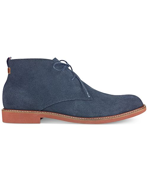 79b0708db Tommy Hilfiger Men s Gervis Chukka Boots   Reviews - All Men s Shoes ...