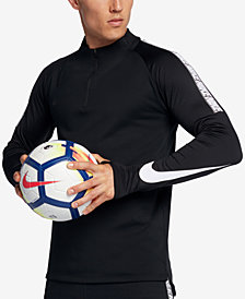 Nike Men's Dry Squad Soccer Quarter-Zip Shirt