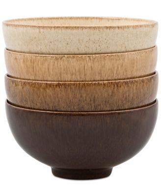 Studio Craft 4-Pc. Rice Bowl Set