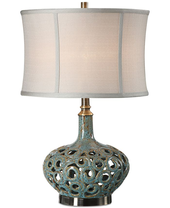 Uttermost - Volu Swirl Lamp