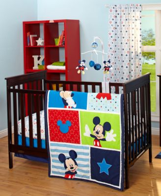 Create An Animated Atmosphere In Your Childu0027s Room With The Bright Tones  And Iconic Mickey Mouse Motif Of This Baby Bedroom Collection From Disney.