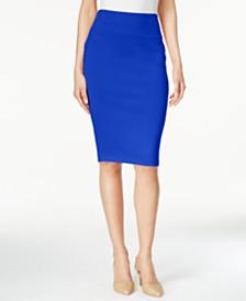 496643ff3 Thalia Sodi Scuba Pencil Skirt, Created for Macy's