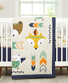 Aztec 5-Pc. Crib Bedding Set