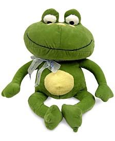 NoJo Jungle Babies Freddie the Frog Plush Decorative Pillow