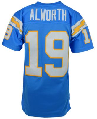 chargers throwback jerseys