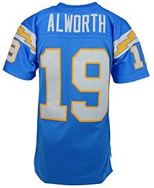 Men's Lance Alworth Los Angeles Chargers Replica Throwback Jersey