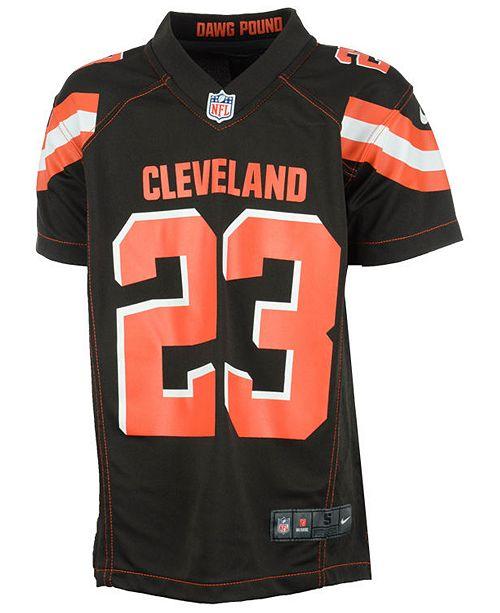 2f087467 Joe Haden Cleveland Browns Game Jersey, Big Boys (8-20)
