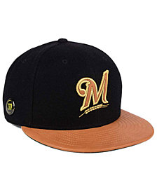 New Era Milwaukee Brewers X Wilson Metallic 59FIFTY Fitted Cap