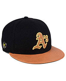 New Era Oakland Athletics X Wilson Metallic 59FIFTY Fitted Cap