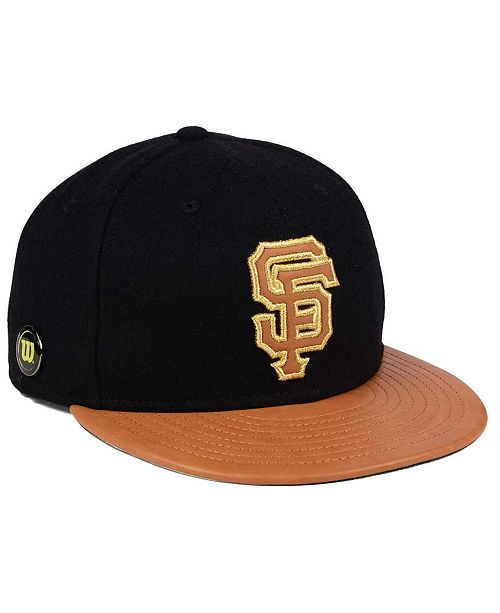 reputable site af5d9 5c170 ... New Era San Francisco Giants X Wilson Metallic 59FIFTY Fitted Cap ...