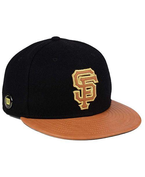reputable site 4c786 14672 ... New Era San Francisco Giants X Wilson Metallic 59FIFTY Fitted Cap ...