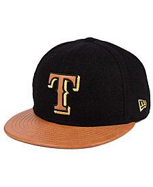 New Era Texas Rangers X Wilson Metallic 59FIFTY Fitted Cap