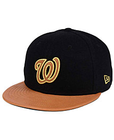 New Era Washington Nationals X Wilson Metallic 59FIFTY Fitted Cap