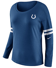 Nike Women's Indianapolis Colts Tailgate Long Sleeve Top