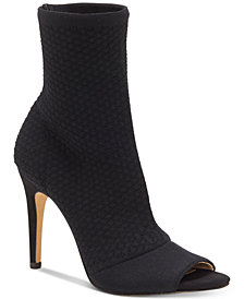 I.N.C. Women's Rielee Sock Booties, Created for Macy's