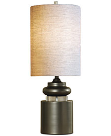 Harp & Finial Meridian Table Lamp