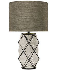Harp & Finial Ambrose Table Lamp